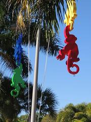 DSCN8487 (Dale_Wiley) Tags: art metal monkey statues horseshoes