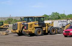 Sarasota Construction - Caterpillar Wheel Loaders (roger4336) Tags: construction florida cobblestone caterpillar sarasota loader frontend 950 2016 926 wheelloader palmerranch 950k 926m