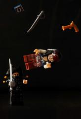 Jack's in trouble (Samuel Mariot) Tags: jack toy nikon lego sparrow pirate potc d60 blackbeard lvitation minifigures legominifigures barbenoire legography legographic