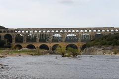 40080139 (wolfgangkaehler) Tags: bridge france water french europe european roman bridges unescoworldheritagesite aqueduct nimes pontdugard aqueducts southernfrance 2016 1stcenturyad gardonriver garddepartment