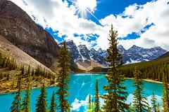 Mile High (Michael Shum) Tags: canada alberta banffnationalpark morainelake lakemoraine 2010sepvancouver