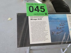 """Dassault Mirage III-O 9 • <a style=""""font-size:0.8em;"""" href=""""http://www.flickr.com/photos/81723459@N04/26521787041/"""" target=""""_blank"""">View on Flickr</a>"""