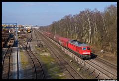DB Cargo 232 388, Duisburg Entenfang 17-02-2016 (Henk Zwoferink) Tags: db cargo duisburg henk dbs 232 schenker dbc 388 br232 entenfang zwoferink 17022016