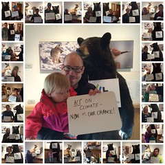 #ActOnClimate Messages with Citizens Climate Lobby Aspen - Earth Day 2016