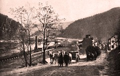 Harpers Ferry WV by John E. Dumont - 1885 (SSAVE w/ over 5 MILLION views THX) Tags: snapshot westvirginia harpersferry armory highstreet potomacriver 1885