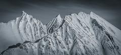 Hamperokken (Matthew Montgomerie) Tags: travel winter white mountain snow black ski norway rock climb norge skiing arctic adventure summit polar scandinavia