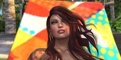 Colors (Carla Putnam) Tags: portrait woman beach headshot redhead mina redhair