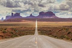 Bottleneck Mirage (matteo.panciroli) Tags: road arizona usa holiday point landscape utah crossing mirage monumentvalley vanishing fatamorgana us163