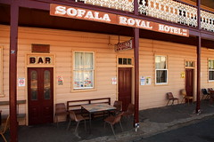 Sofala Royal Hotel (Darren Schiller) Tags: old building sign architecture bar facade hotel pub doors alcohol newsouthwales tooheys weatherboard sofala