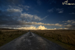 A Road to Heaven? (Gavmonster) Tags: road blue sky white mountains wales clouds landscape grey nationalpark nikon outdoor wideangle breconbeacons heath land bleak desolate blackmountains heathland leadingline polarisingfilter ymynydddu 1024mm d7000 nikond7000 gswphotography