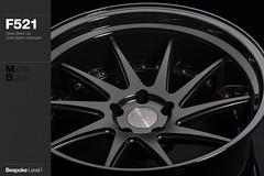 f521-matte-black (AG Wheels) Tags: black wheel design paint stage painted coat wheels powder step finish designs lip gloss custom rim rims avant garde multi forged matte concave finishing avantgarde bespoke directional forging rotational powdercoat f521 agwheels