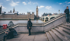 Familiar View | Parliament (James_Beard) Tags: london thames sony landmarks housesofparliament bigben blueskies palaceofwestminster sonydscr1