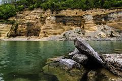 Salzach-Steilhang (novofotoo) Tags: sterreich natur fluss landschaft obersterreich salzach steilhang flusufer duttendorf kleinformen salzachdurchbruch