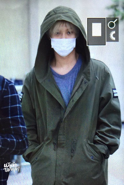 160427 Taemin @ Aeropuerto Gimpo {Llegada a Corea} 26665959911_200c9018f4_z
