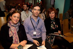 """Sarah Coll, Permanent TSB; Jonathon Kirwan, ICAN and Susie Boyle, Pigsback.com • <a style=""""font-size:0.8em;"""" href=""""http://www.flickr.com/photos/59969854@N04/26675090475/"""" target=""""_blank"""">View on Flickr</a>"""