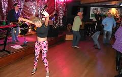 Interpretive Dance (jiff89) Tags: seattle music woman classic rock bar dance live april lynnwood cliffhanger 2016 dogtones
