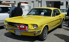 Ford Mustang 289 (Thethe35400) Tags: auto car yellow automobile voiture amarillo amarelo gelb giallo coche bil carro bll cotxe