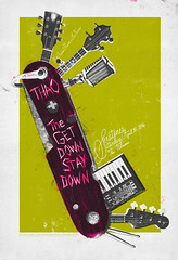 Thao & the Get Down Stay Down at The Fillmore (withayou) Tags: print design graphicdesign knife screenprinting silkscreen fillmore gigposters pocketknife billgraham thefillmore gigposter swissarmyknife printdesign thaothegetdownstaydown seratones