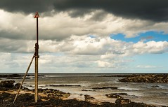 Kingsbarns beach (bobmack1980) Tags: beach water landscape scotland rocks fife forth standrews kingsbarns