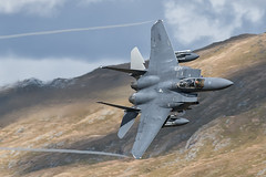 F-15E Strike Eagle Low Level (Pete Fletcher Photography) Tags: