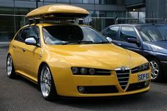 2006 Alfa Romeo 159 JTDM 16v Lusso Sportwagon (davocano) Tags: brooklands autoitalia autoitalia2016 sep6s