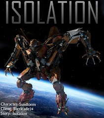 Isolation Sunstorm (Barricade24) Tags: movie transformers isolation seeker sunstorm decepticon
