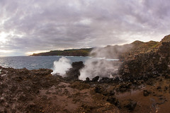 2016.01.04-Maui-057 (c_tom_dobbins) Tags: sunrise hawaii surf waves maui blowhole nakalele
