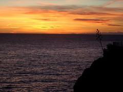 Riomaggiore, Italy (miawhite9) Tags: sunset sea italy alps colors beautiful beauty french europe natural cinqueterre riomaggiore