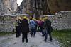 Indossato il caschetto iniziamo la visita all'Abbazia di San Martino in Valle - Majella - Abruzzo - Italy