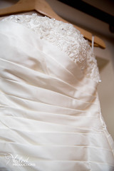 The wedding dress. Kat and Oli's wedding day - photography and videography by Veiled Productions - wedding photography and videography Cambridgeshire