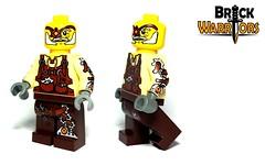 Herovinci Printing (BrickWarriors - Ryan) Tags: hat lego top rifle pipe victorian armor printing custom limited edition gentleman weapons helmets steampunk knapsack cutlass minifigure brickwarriors