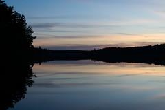 Evening Light (Garrett472) Tags: sunset lake sillouette