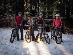 Fromme Snow Riding (kendyck1) Tags: bc mountainbike northshore annie shirley espresso northvancouver mountainbiking natasha fromme