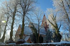 Biestow #3 (victorlaszlo73) Tags: winter sunny sonnig dorfkirche mecklenburgvorpommern biestow