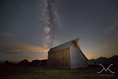 Mormon Row Milky Way - The Barn (Mike Ver Sprill - Milky Way Mike) Tags: travel beautiful stars landscape star nationalpark midwest nightscape wideangle roadtrip explore galaxy astrophotography astronomy nightsky wyoming np grandtetons universe grandteton cosmos mv darkskies thebarn 1424 hikewithmike nikond800 moultonranch michaelversprill mikeversprill starstax milkywaymike mormonrowmilkyway nightscapers