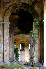 c r e e p y (giuliaph.) Tags: old plants nature grass amazing cool ruins ruin creepy erba omg oldie ruined abandonedbuilding rovine terme spectacle oldbutgold vecchieterme