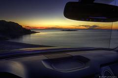 From Where I Sit (eSCaPe photography) Tags: ocean blue sunset seascape canada yellow newfoundland mirror labrador outdoor atlantic toyota seashore tundra twillingate