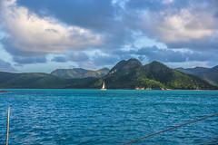 Feel the breeze (boobie40) Tags: ocean vacation holiday mountains water clouds sailboat island freedom boat nikon marine sailing antigua tropical sail caribbean tropics cloudporn westindies d810