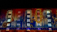 Luminere London, Kings Cross, London, England (PaChambers) Tags: street england urban london art st architecture night square europe camden centre central pancras iphone luminescent 2016 luminere