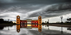 Tangu (T Glow) Tags: park sky water brasil clouds reflex curitiba tangu