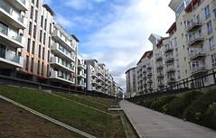 Apartment land (Nige H (Thanks for 4m views)) Tags: city bristol apartments cityscape flats harbourside urbanlandscape