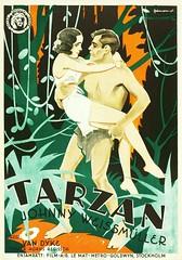 Tarzan the Ape Man (1932 / Metro-Goldwyn-Mayer) (Sweden) (KlaatuCarpenter) Tags: blackwhite movieposter edgarriceburroughs dorislloyd neilhamilton johnnyweissmuller ericrohman ivornovello maureenosullivan irvingthalberg cedricgibbons cyrilhume caubreysmith haroldrosson ivorywilliams wsvandyke forresterharvey williamaxt warrennewcombe clydedevinna