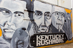 Kentucky Rushmore (Eridony (Instagram: eridony_prime)) Tags: mural kentucky louisville jeffersoncounty thehighlands bonnycastle
