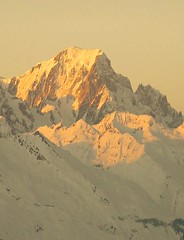 Mont Blanc (Le Drake Noir) Tags: winter light mountain
