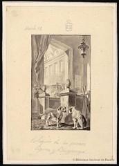 Coloquio de los perros (Biblioteca Nacional de Espaa) Tags: y dibujos cervantes paret literatura alczar novelas ejemplares 400cervantes