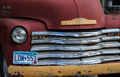 Old Red Truck (Valentina Sokolskaya) Tags: usa albuquerque 15challengeswinner challengegamewinner