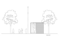 Pauhu pavilion. 2D_drawings_3.3dm