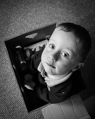 5 years old and hes still in a box - DSC00300 (s0ulsurfing) Tags: bw mono box sony william february 2016 s0ulsurfing rx100 rx100mk4