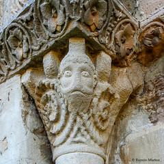 DSC0226 Santa Mara de Eunate, siglo XII, Navarra (ramonmunoz_arte) Tags: santa de arte xii mara navarra templarios siglo romnico eunate