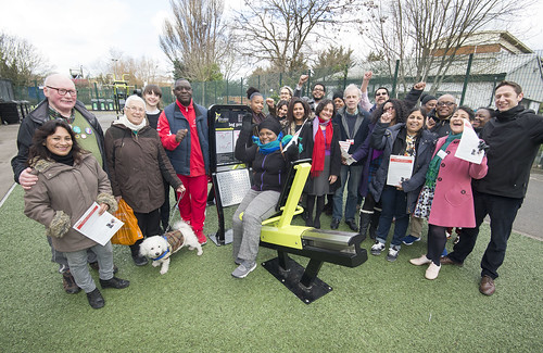 Outdoor Gym Launch